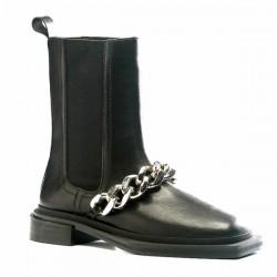 Botas cadena negro